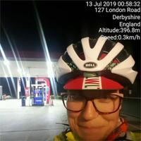 Lucy at checkpoint 1